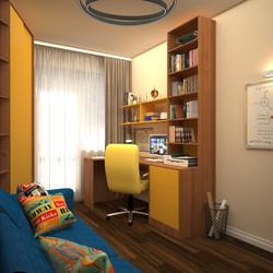 комната подростка  мальчика проект рабоч