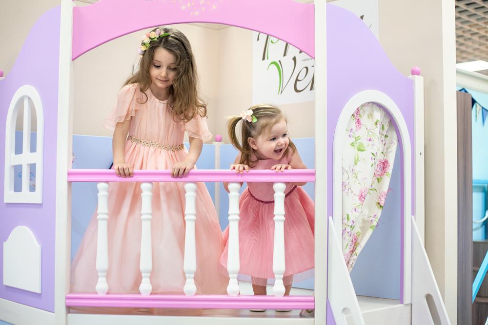 балкон игрового домика Принцесса