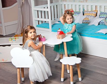 столик стульчик детский игровой с круглы