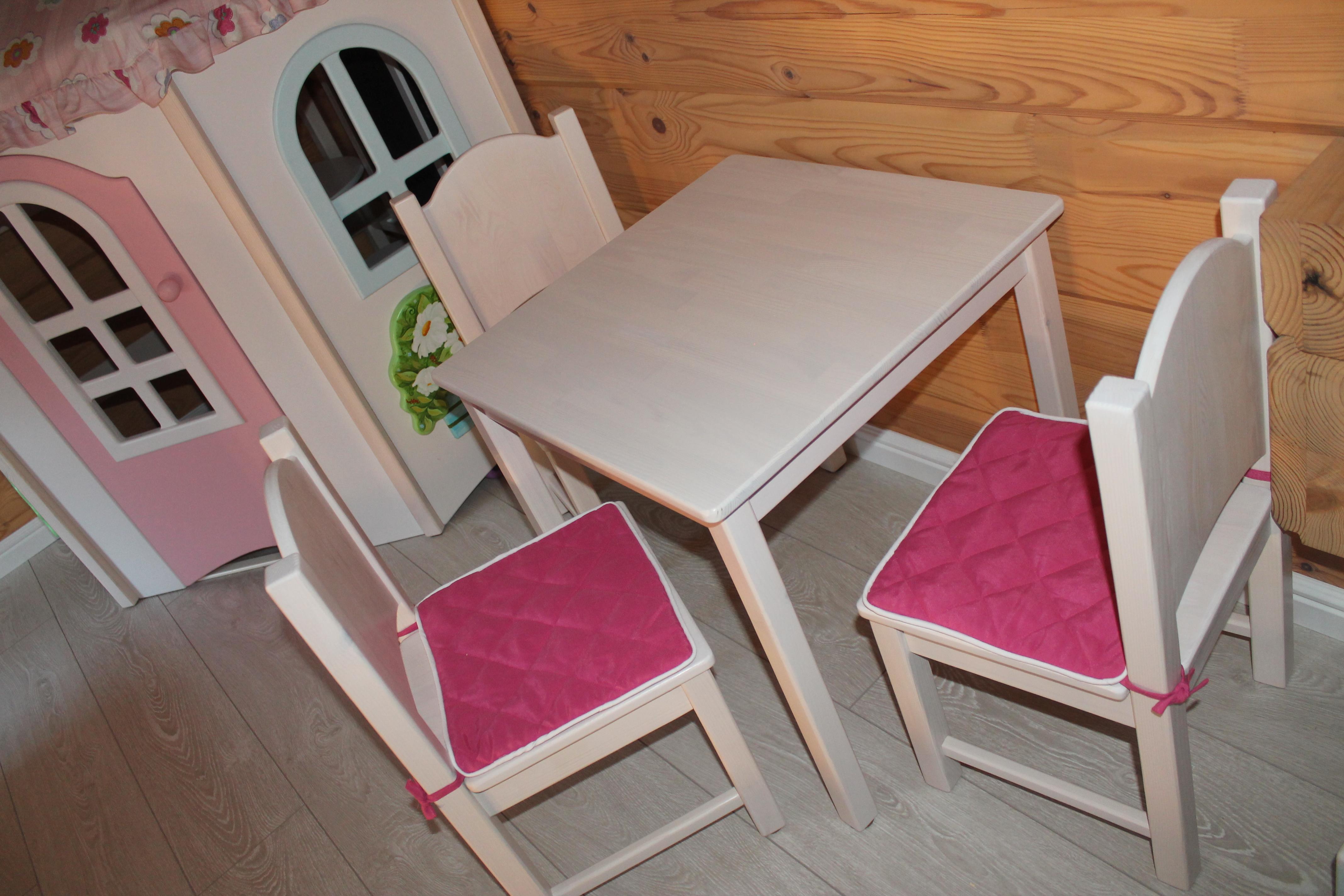 стлик для творчества и стульчики из масс