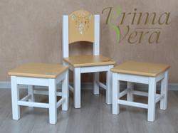 детский стул и табуреты