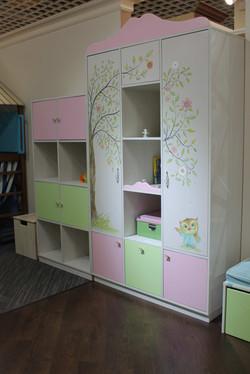 Корпусная мебель из ЛДСП (шкаф и модульная система хранения)