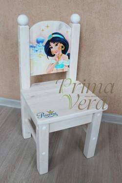стульчик с росписью
