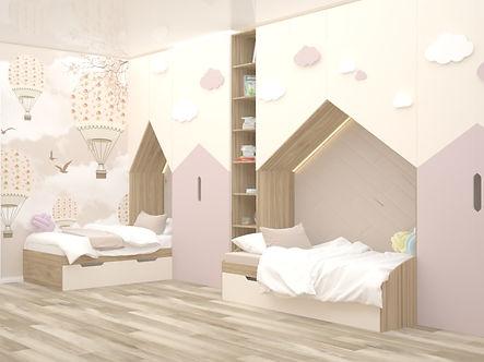 шкафы-домики с нишами под кровати.jpg