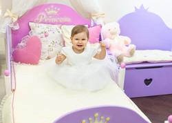 принцесса на своей кроватке