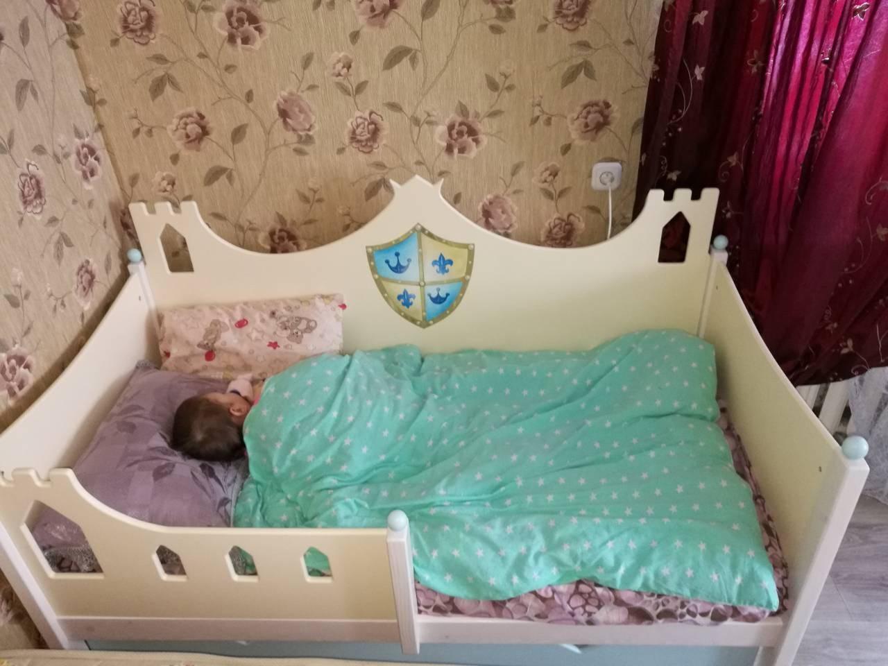 кровать для мальчика рыцарь