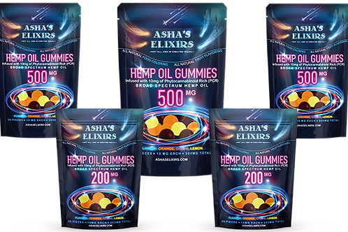 500 mg CBD Gummies Infused Gummies
