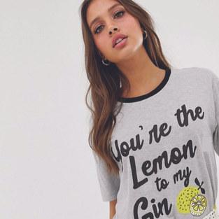 LEMON GIN / ASOS