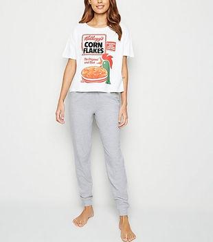 white-kellogg's-corn-flakes-logo-pyjama-
