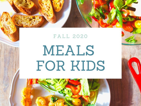 Meals for Kids - Fall Update