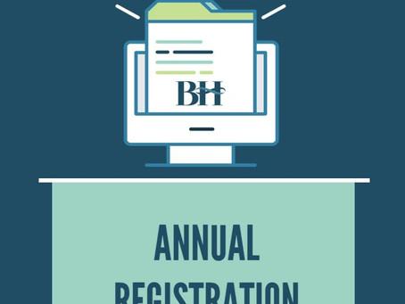 2020-2021 Annual Registration