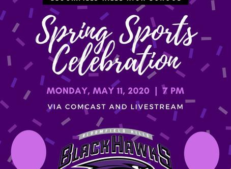Senior Spring Sports Celebration