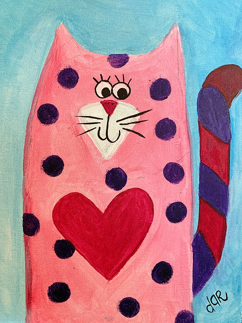 Dar's Cool Cats - Pinky Create at Home Kit