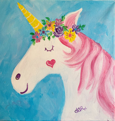 FLOWER CROWN UNICORN