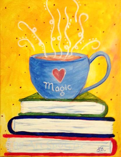 Magic of Coffee and Books