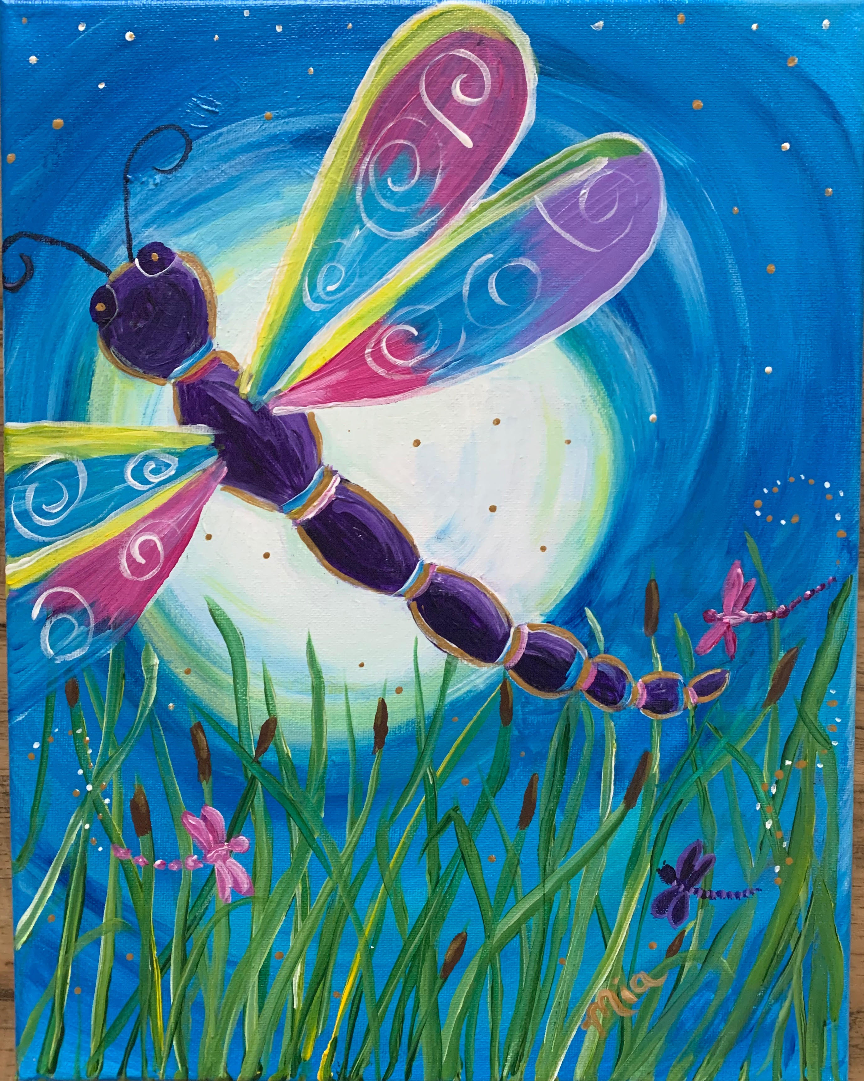 maria moonlight dragonfly