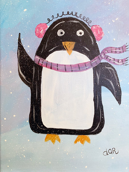 Penelope Penguin Create at Home Kit