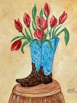 BOOTS 'N TULIPS