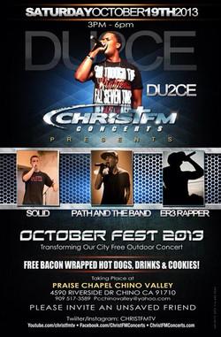 OctoberFest- Praise Chapel Chino