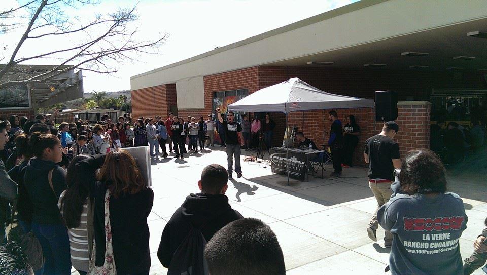 Fremont HS Pomona Feb 27, 2014