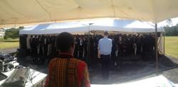 At St. Hannah's school, Nairobi