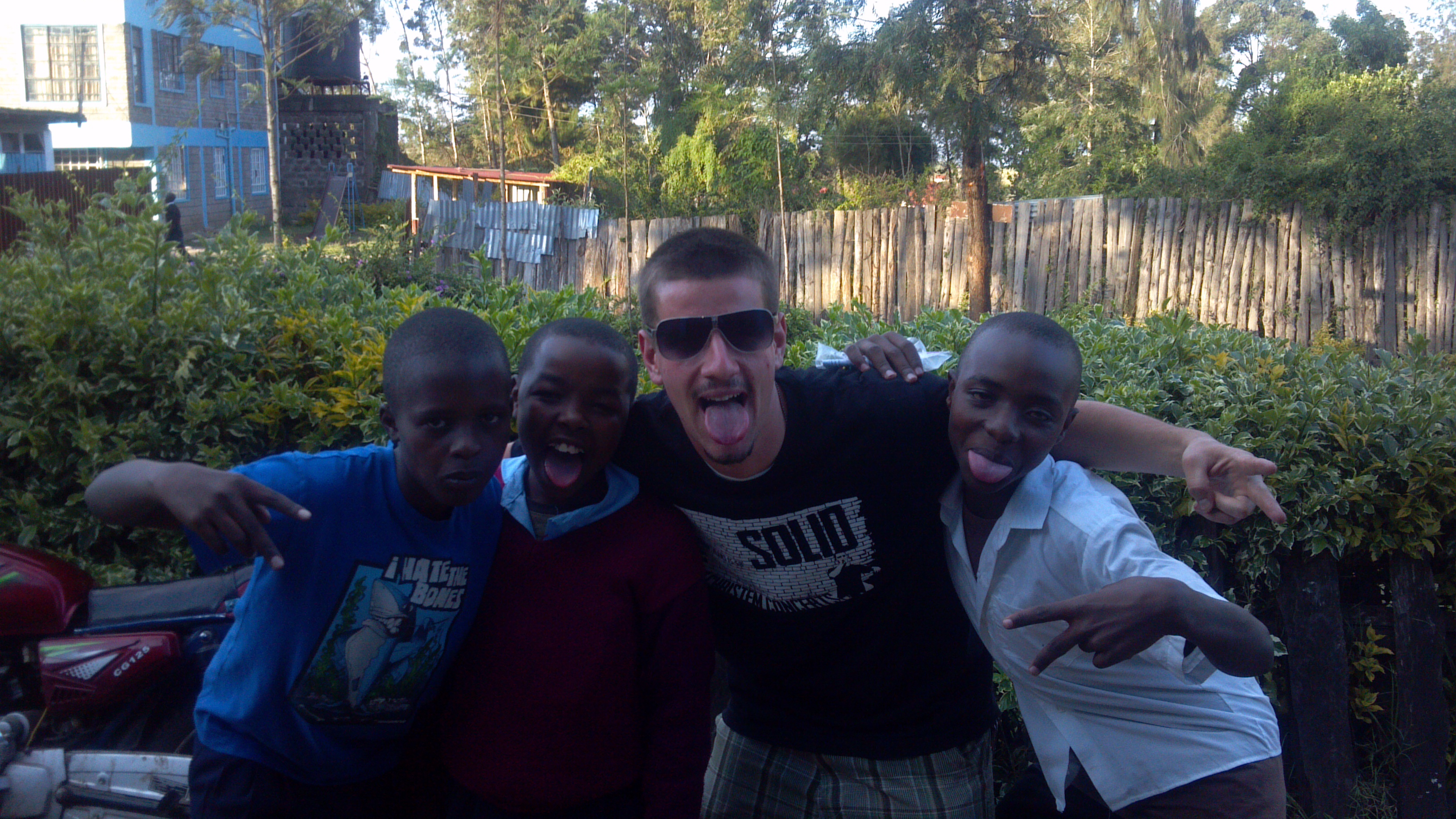 At ByGrace Children's home, Ngong