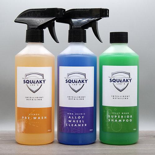Basic Wash Essentials Kit