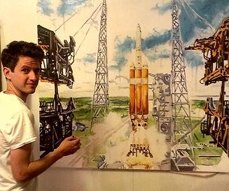 Tim Rand painter artist clinton portrait