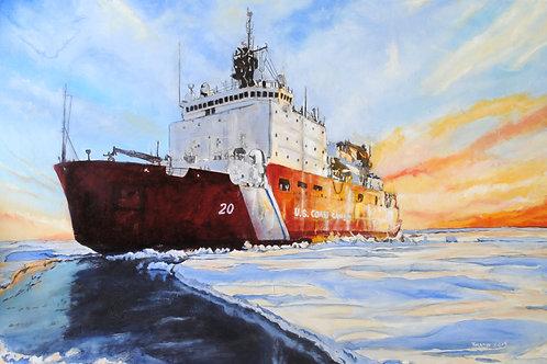 Icebreaker: USCGC Healy