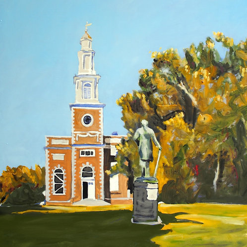 Hamilton College Chapel Print