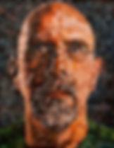Chuck Close portrait Tim Rand
