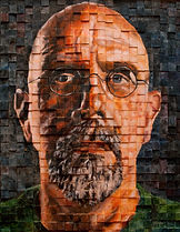 Chuck Close portrait Tim Rand