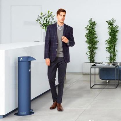 hand sanitiser dispenser floor stand