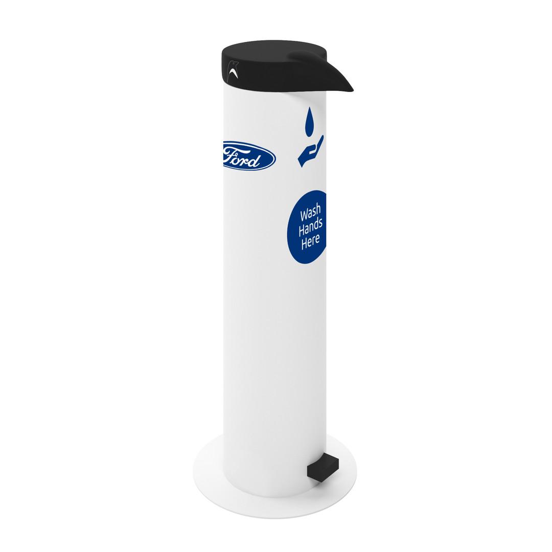 antibacterial hand sanitizer dispenser