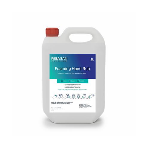 Foaming Hand Rub 5L