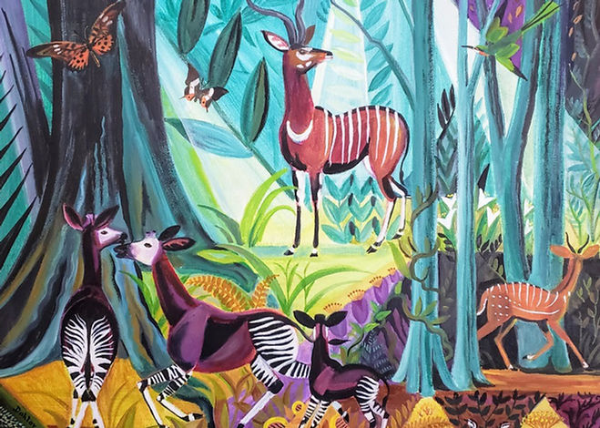 Dahlov Ipcar paintings for sal