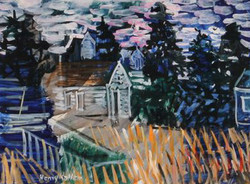 Monhegan Houses