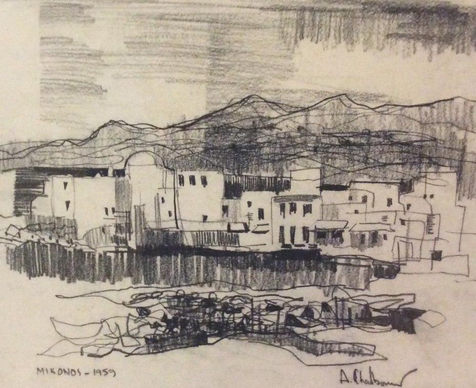 Mikonos Greece 1959