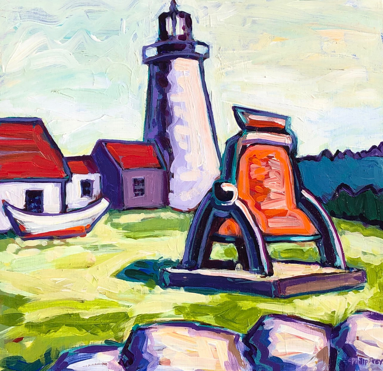 Lighthouse on Monhegan