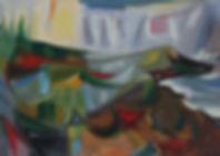 Alex Minewski painting for sale