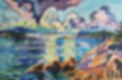 BG 54 Jill Hoy Cumulus Over Western Bay