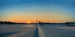 Pleasant Hill Road - Sunset