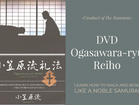 DVD Ogasawara-ryū Reiho is also now available from Iccho.