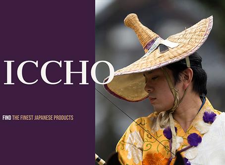 """一張 """"Iccho"""" Website is now open."""