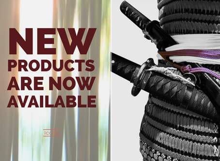 New Products are Now Available