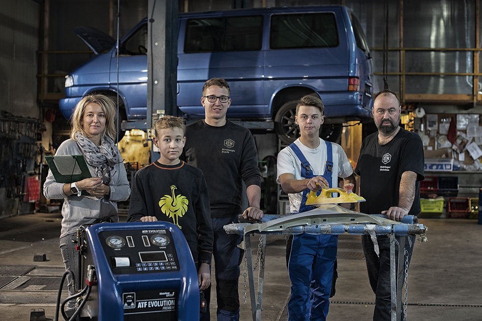 ATM Mehringer Werkstatt Team