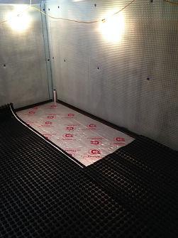 New build, Cellar Conversion, Basement Conversion, Cellar, Basement, Waterproofing, Membrane, Cavity Drain Membrane