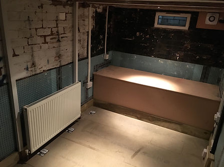 Cellar Conversion, Basement Conversion, Cellar, Basement, Membrane, Cavity Drain Membrane, Refurbishment, Kinver, South Staffordshire