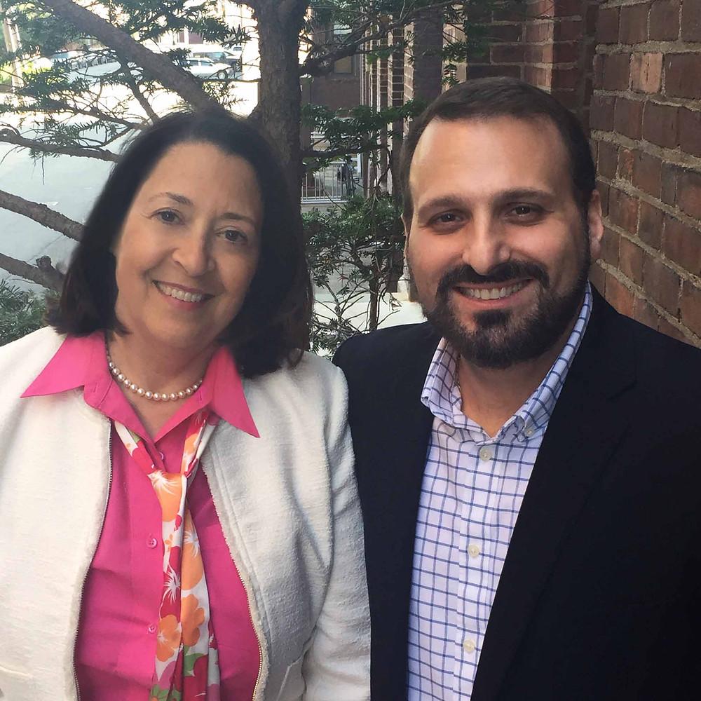 Lori Prickett and Richard Bono, founders of Staff Insight.