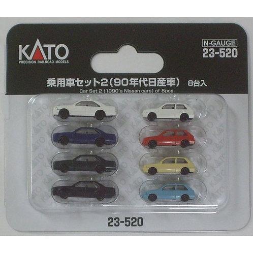Personenwagen Nissan 1:150